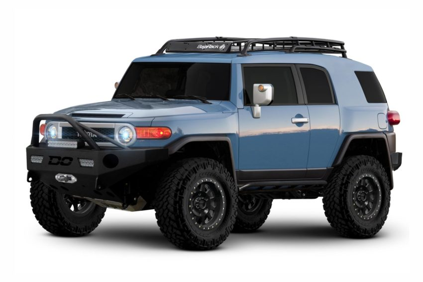 2007-2014 FJ Cruiser Profile Retrofit Kit, high quality, enhance any HID kit.