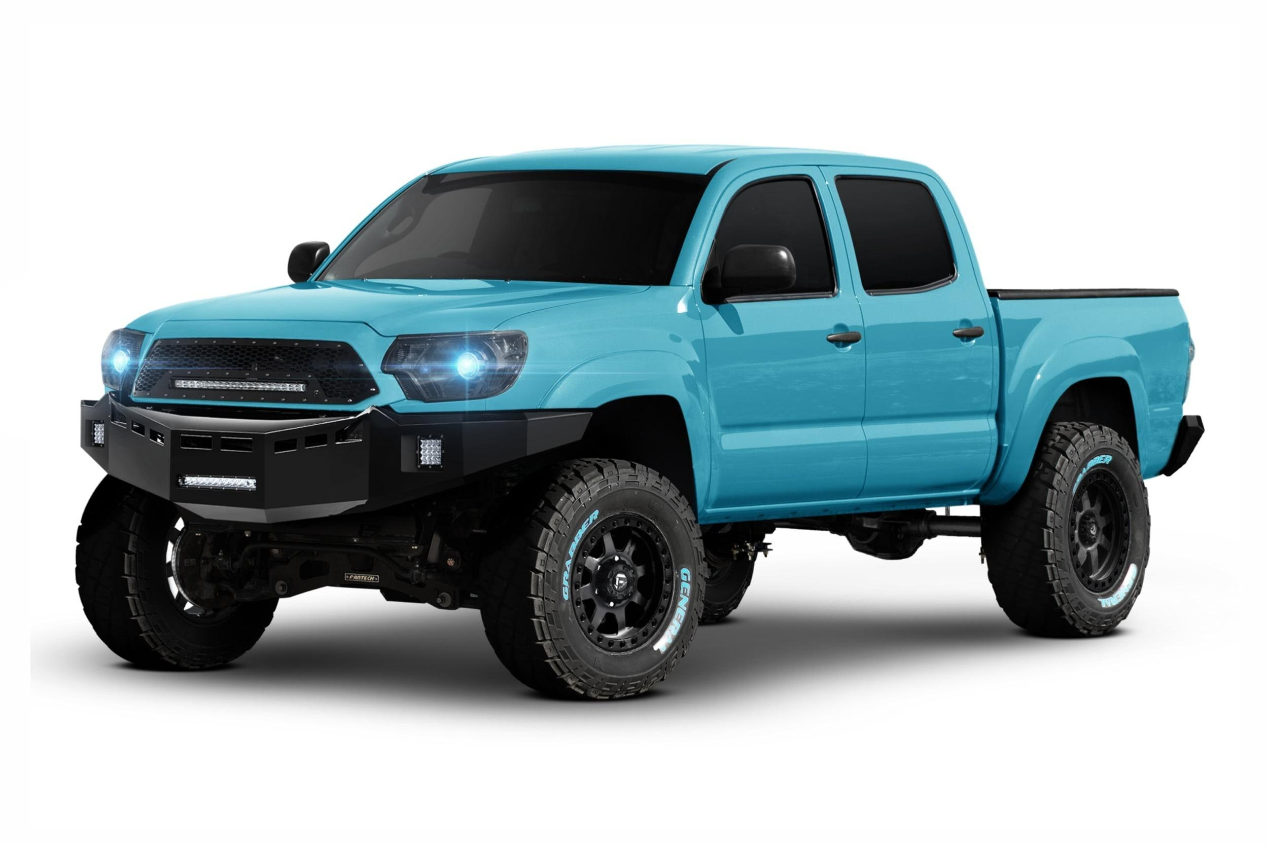 redesign toyota mpg tacoma side concept