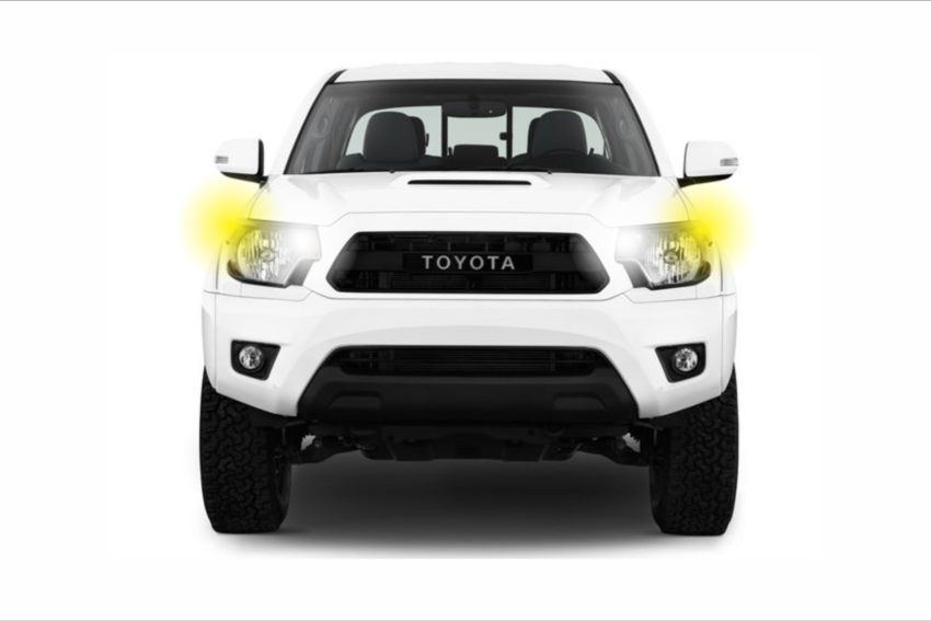 2005-2015 Toyota Tacoma Lighting Package, an assortment of the best LED bulbs for your vehicle.