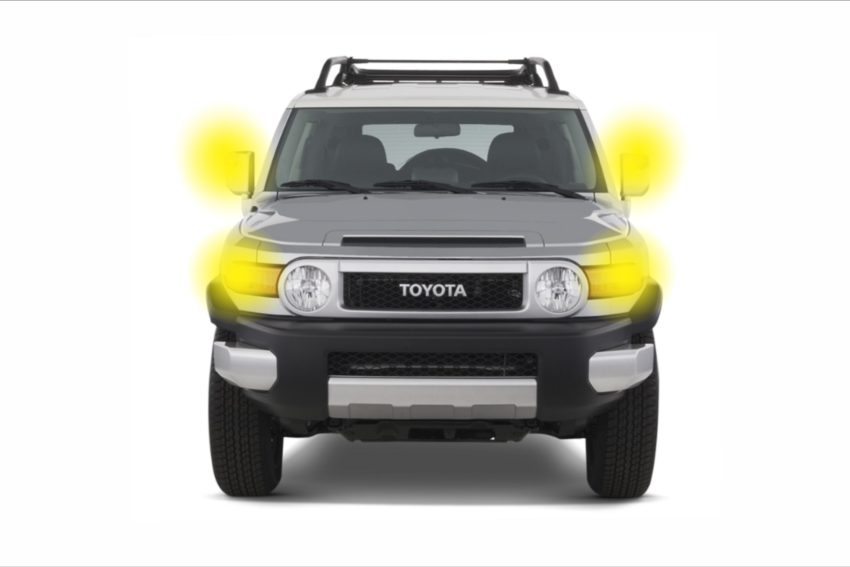 2007-2014 Toyota FJ Cruiser Lighting Package, an assortment of the best LED bulbs for your vehicle.