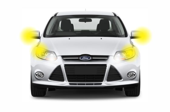 2012+ Ford Focus Lighting Package, an assortment of the best LED bulbs for your vehicle.