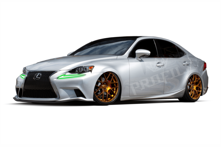 2014+ Lexus IS Profile Pixel DRL Boards, don't limit your vehicle to one color. The HID Factory offers the best components for all HID light kits.
