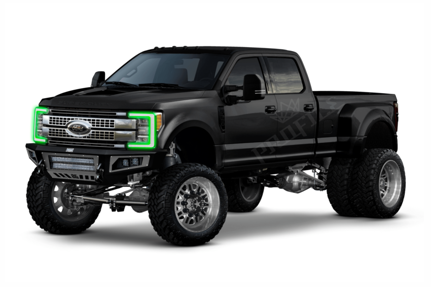 2017+ Ford Super Duty Profile Pixel DRL Boards, don't limit your vehicle to one color. The HID Factory offers the best components for all HID light kits.