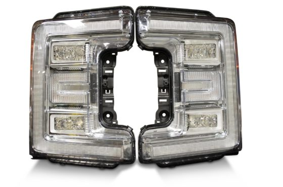 2017+ Ford Super Duty OEM LED Headlights, high quality LED Headlights brought to you by The HID Factory.