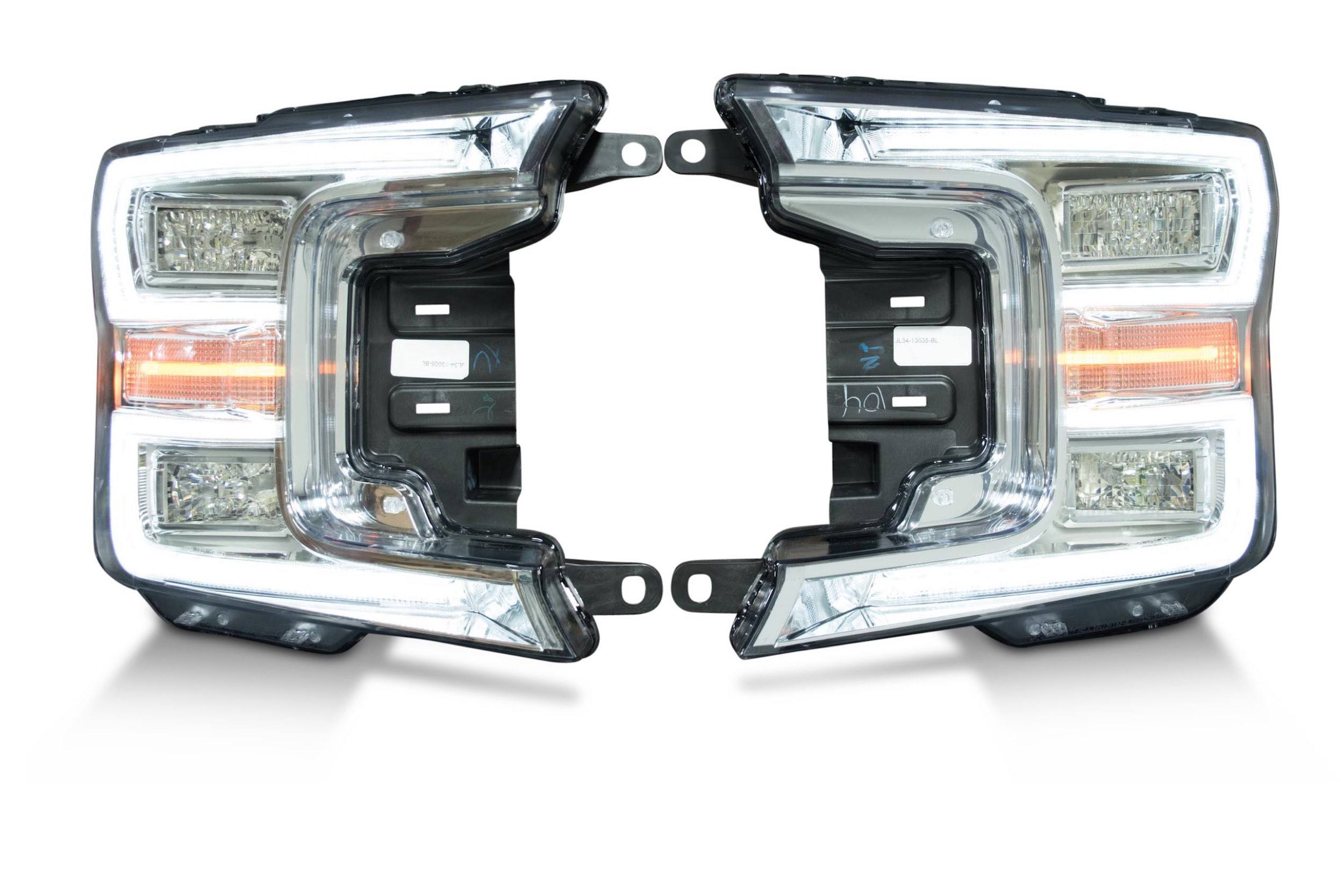 Pair 2018 Ford F150 Oem Led Headlights The Hid Factory