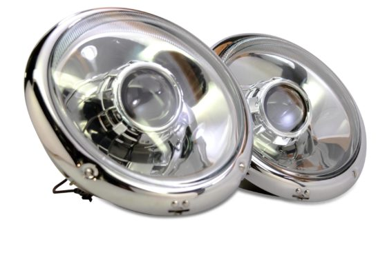 Flat Six Porsche Bi-Xenon Headlights, high quality LED Headlights brought to you by The HID Factory.