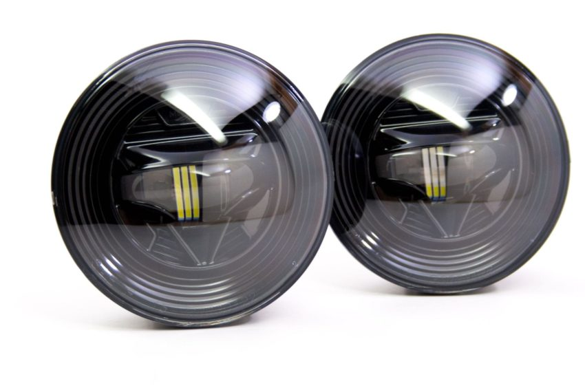 Create the perfect LED Headlight System with LED Fog Light bulbs.