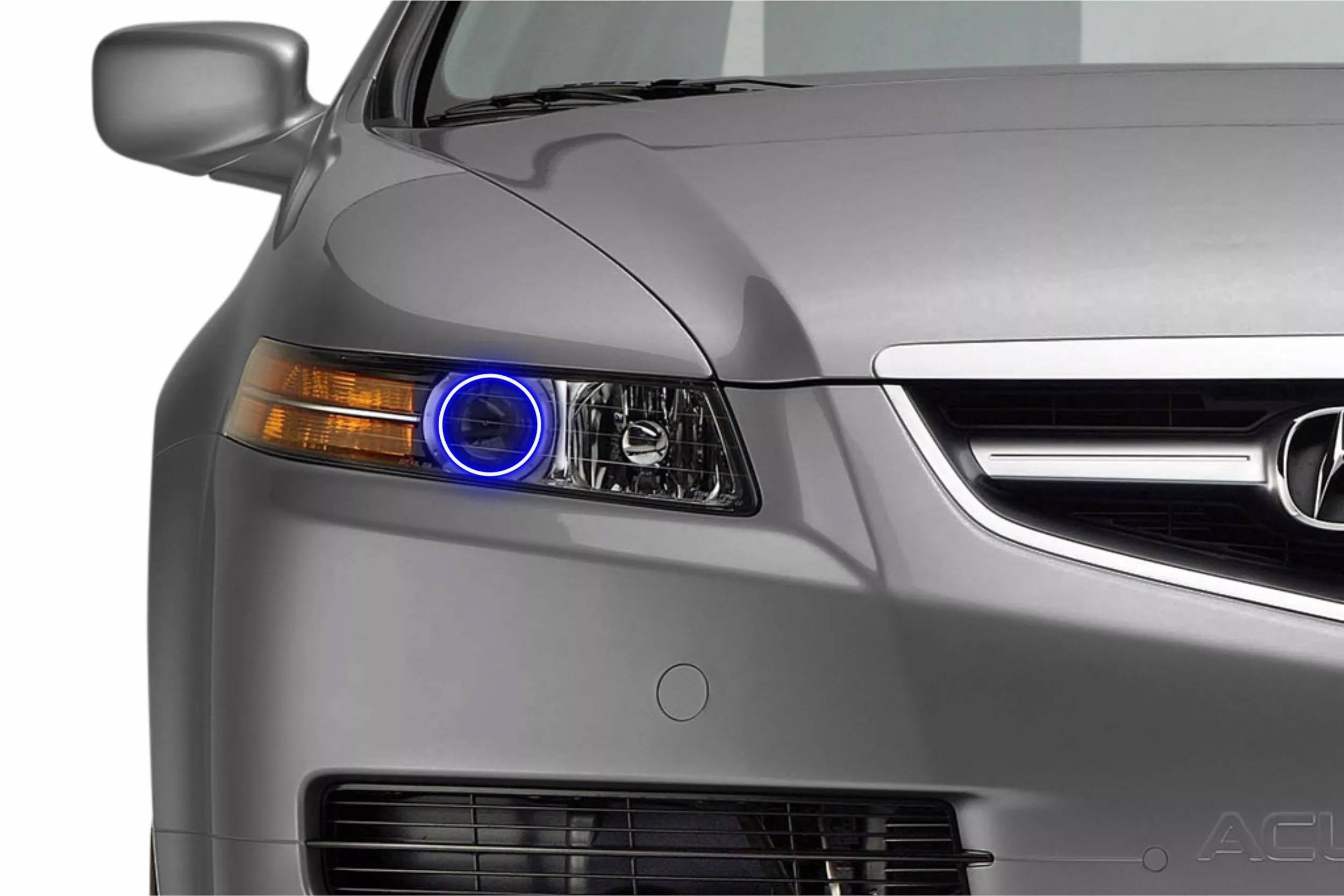 acura tl 04 08 profile prism fitted halos rgb the hid factory. Black Bedroom Furniture Sets. Home Design Ideas