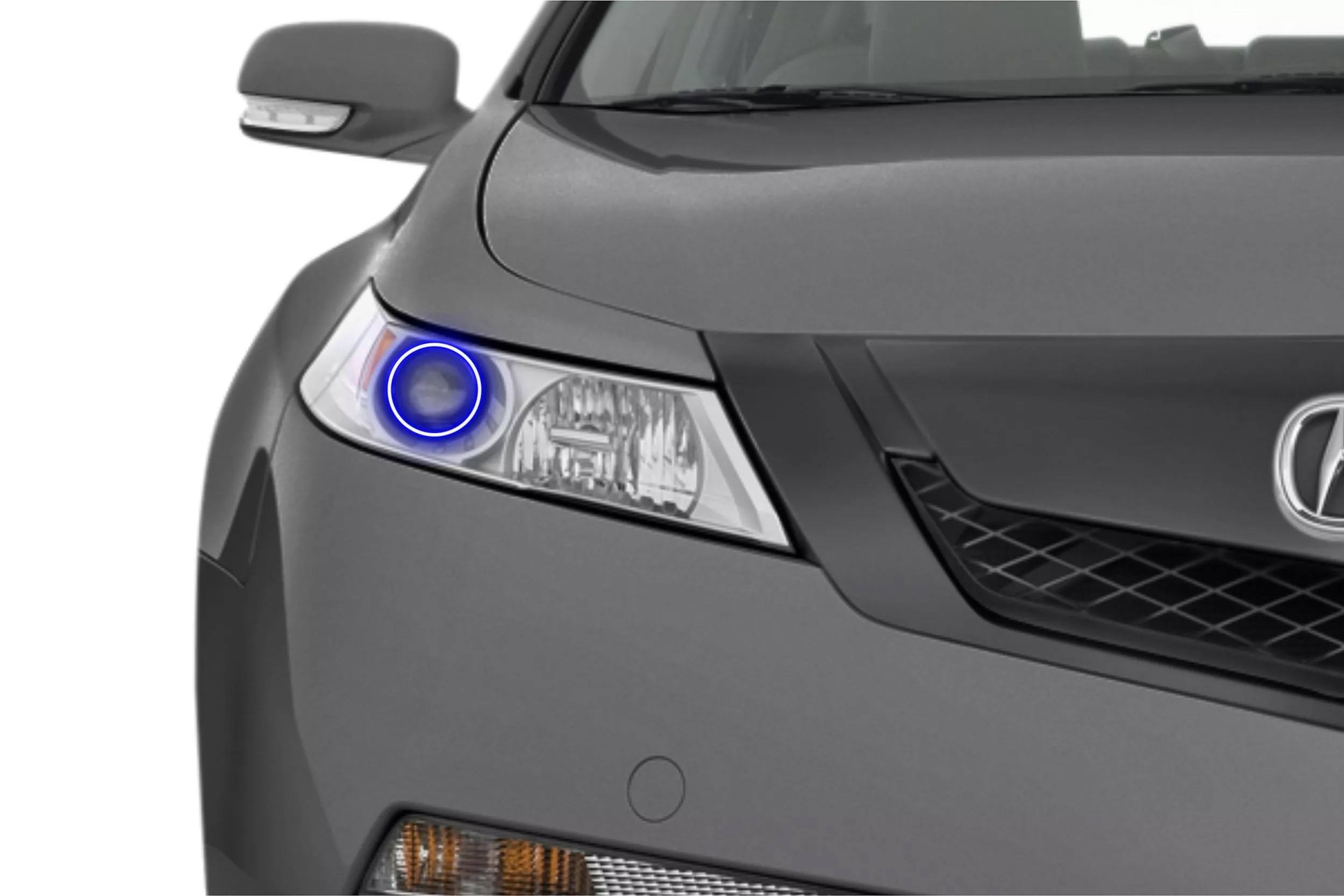 a review chrome rnr modern air tasteful lights tl bumper acura lower the headlights are incorporated tsx front fog nicely dam into automotive slim blog grille and features