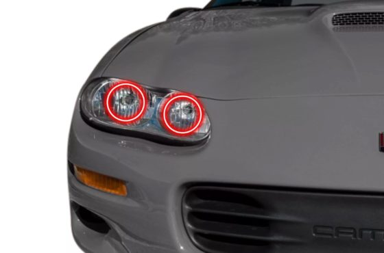 Profile Prism Halos, display any color you want, the most important component of every HID kit.