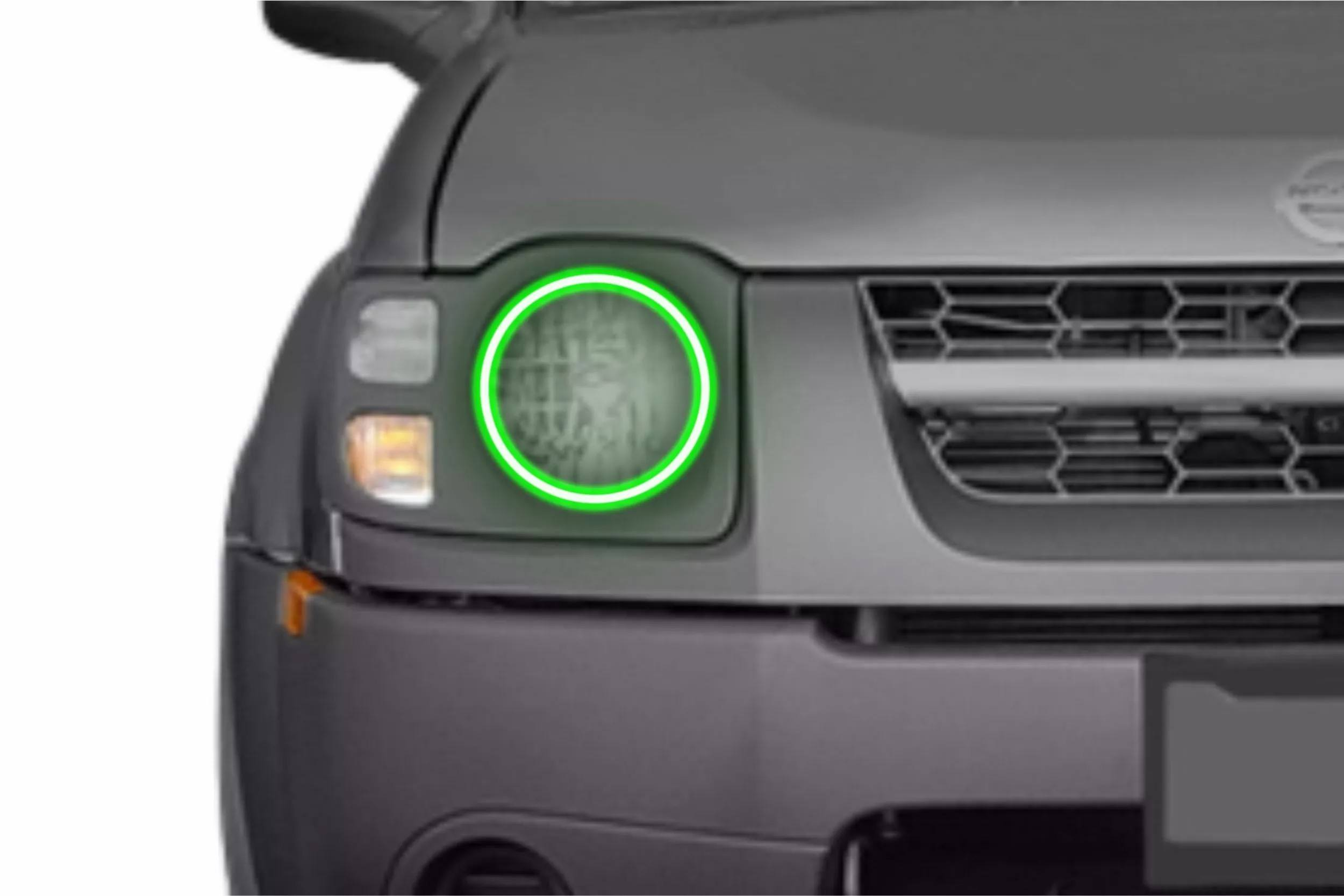 Nissan Xterra (02-04): Profile Prism ed Halos (RGB) on