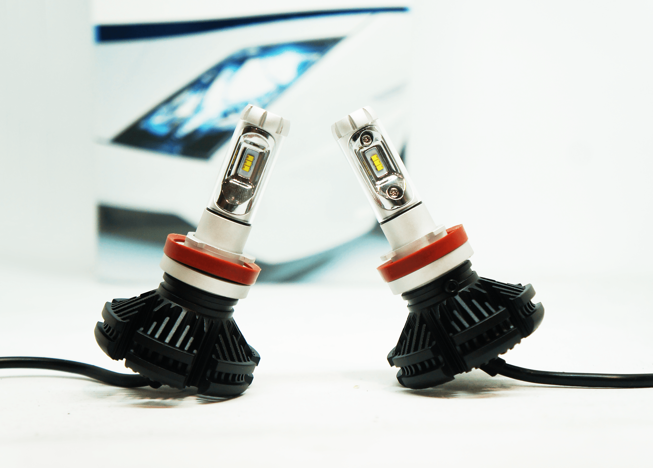 Cree LED Headlights The HID Factoryu0027s answer to auto enthusiasts need for a custom lighting & Cree Elite LED Headlight System - The HID Factory