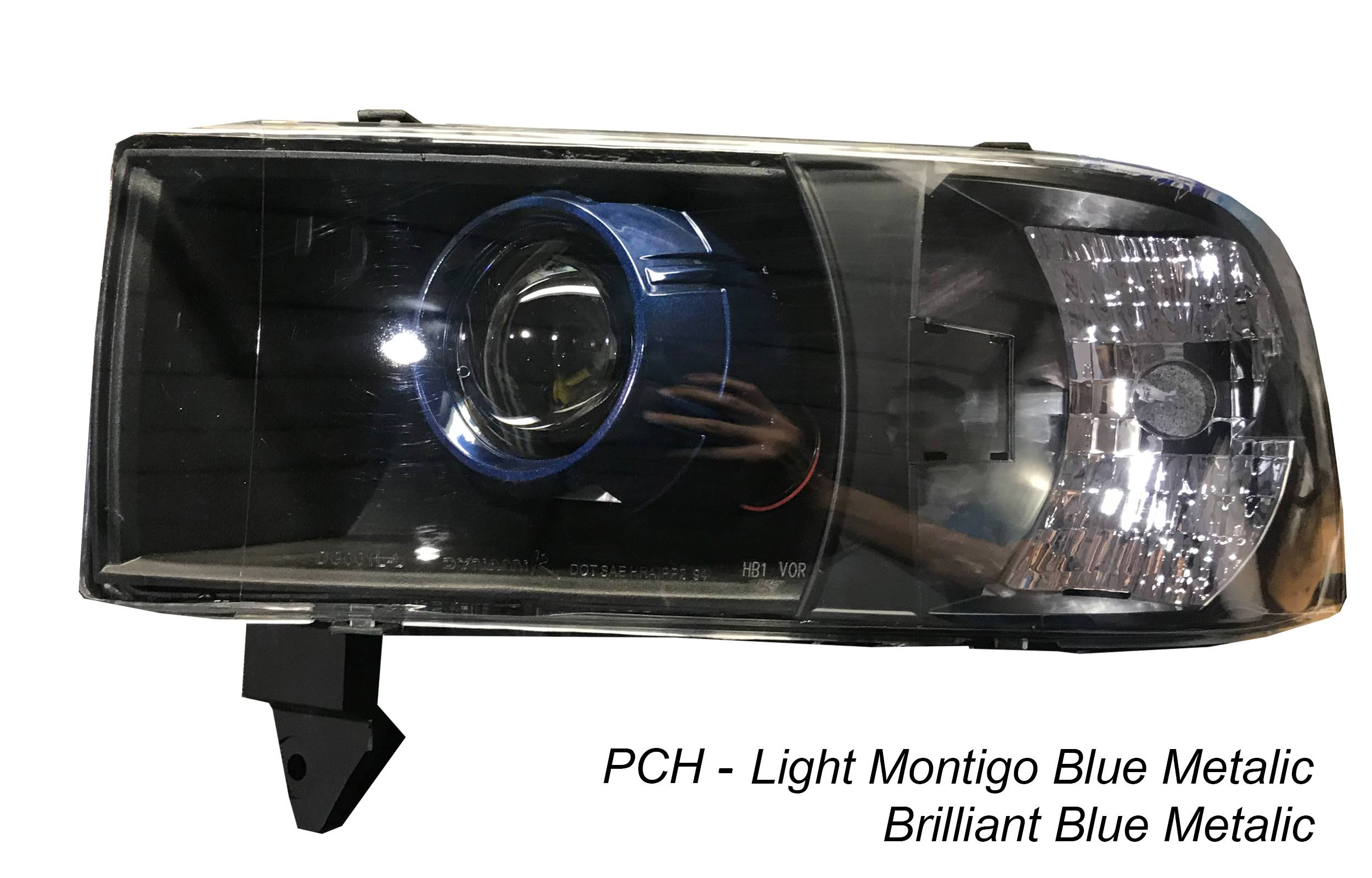 Dodge Ram 94 01 1500 2500 Pre Built Retrofitted Hid Projector Headlight Assembly W Harness The Hid Factory
