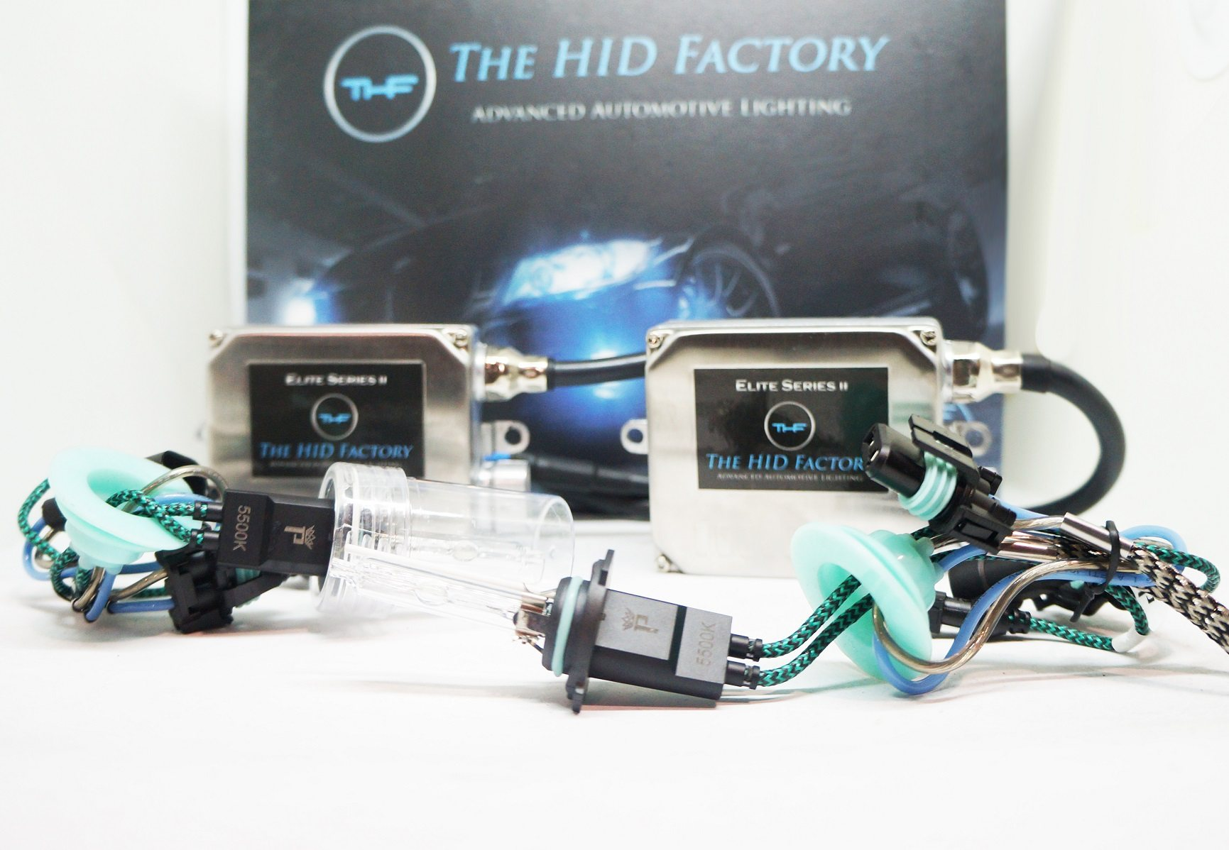 The HID Factory Profile Elite Kit Goes Perfect With Our Best Selling Cree LED Headlights