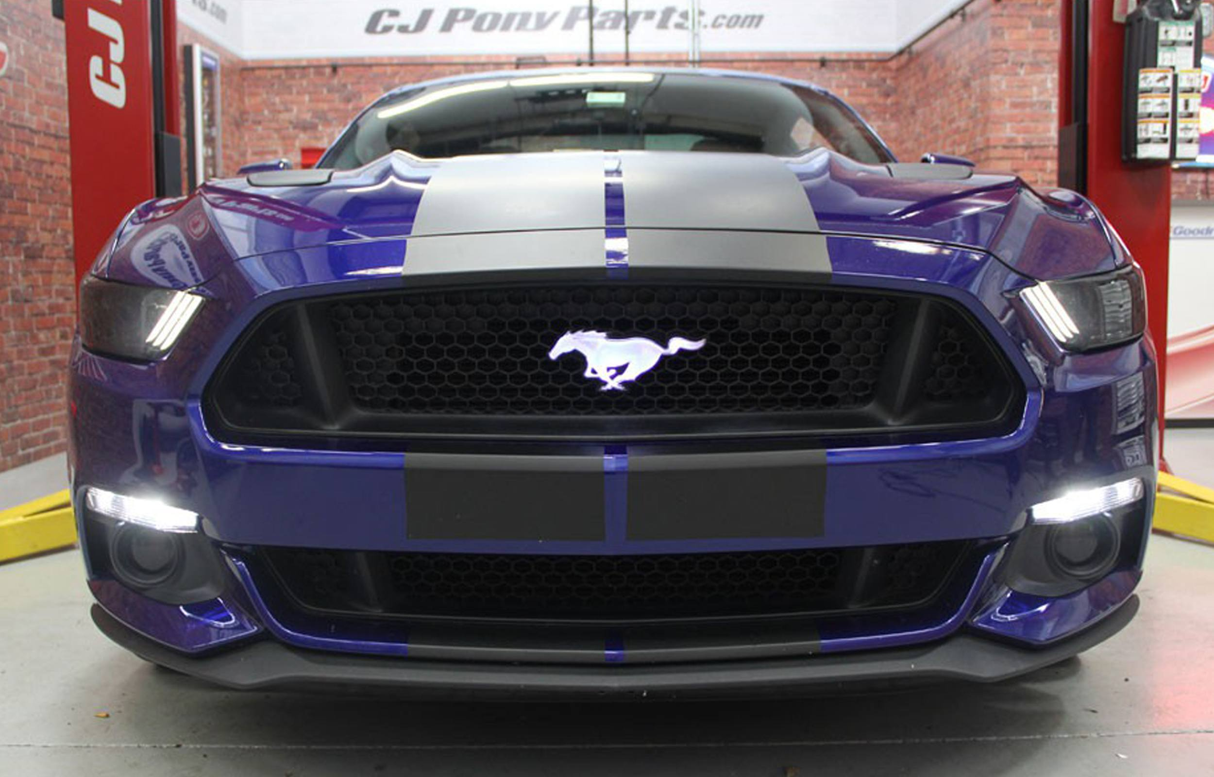 Illuminated Mustang Pony Badge The Hid Factory