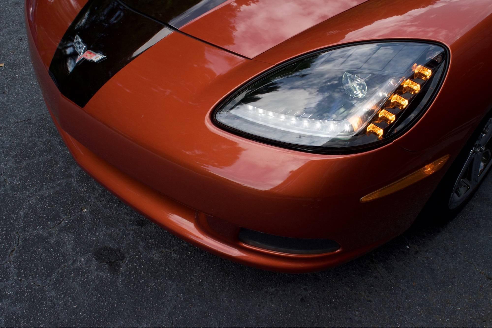 Pair 2005 2013 Chevrolet Corvette Xb Led Headlights The