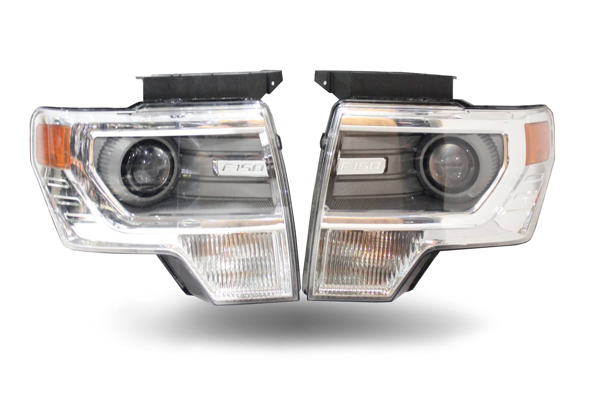 2014 F150 Headlights >> Pair 2013 2014 Ford F150 Oem Hid Headlights