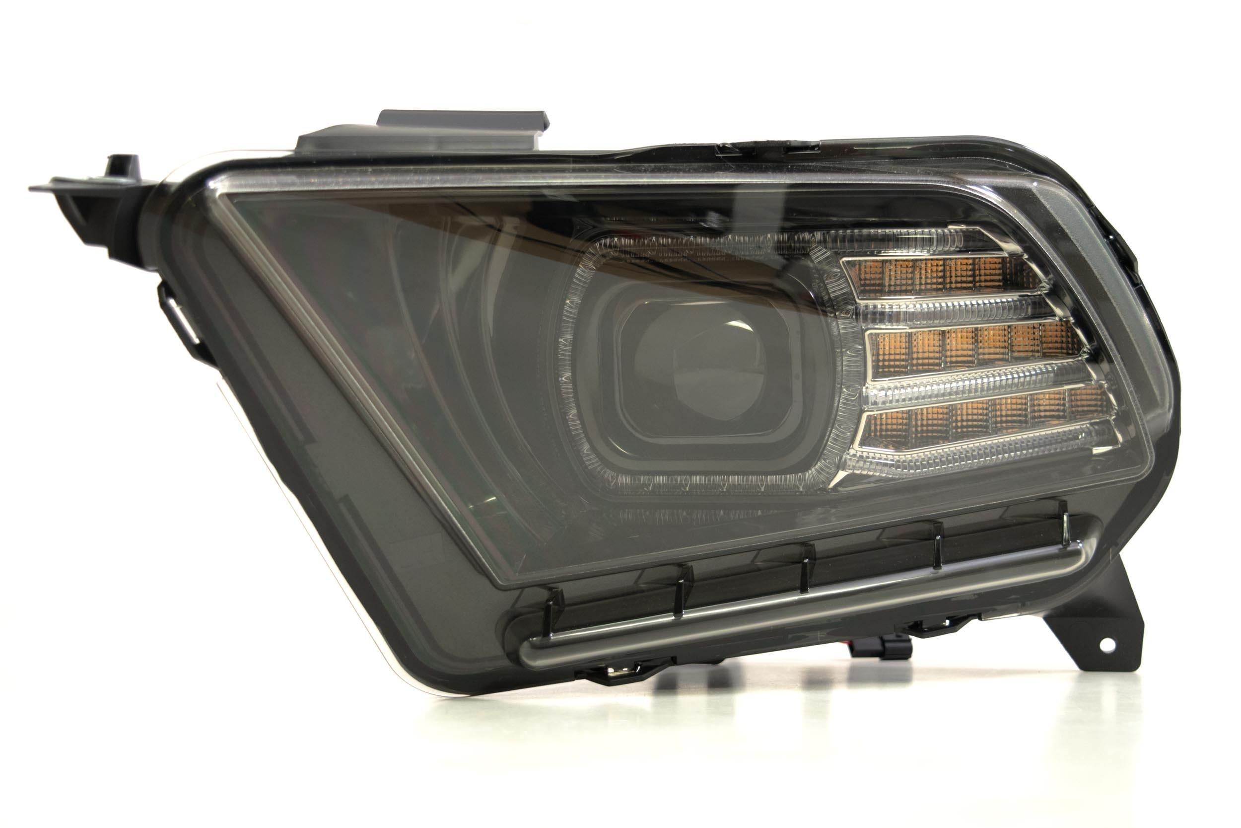 Pair  2010-2014 Ford Mustang Xb Led Headlights