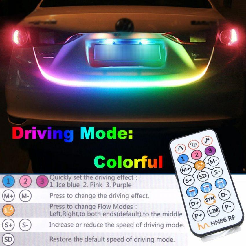Rgb Colorshift Trunk Tailgate Led Strip Light The Hid